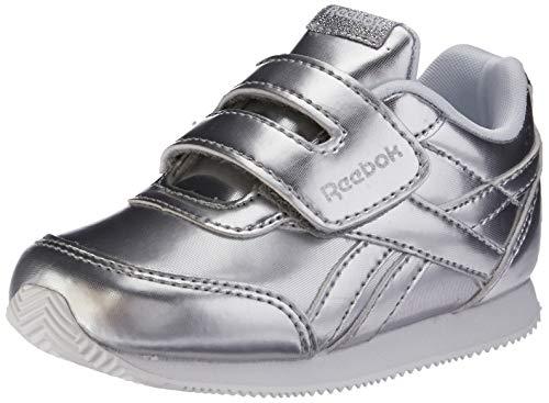 Reebok Royal Cljog 2 KC, Scarpe da Trail Running Donna, Multicolore (New Metallic/Silver/White 000), 39 EU