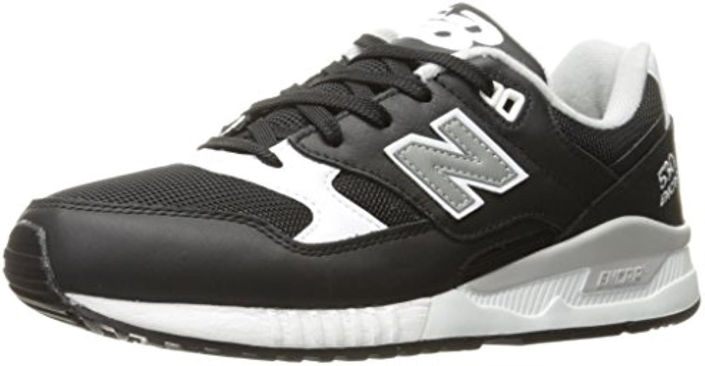 New Balance M530PIB - M530 Zapatillas Clásicas de sintético/Tela Hombre, Color Negro, Talla 41 EU