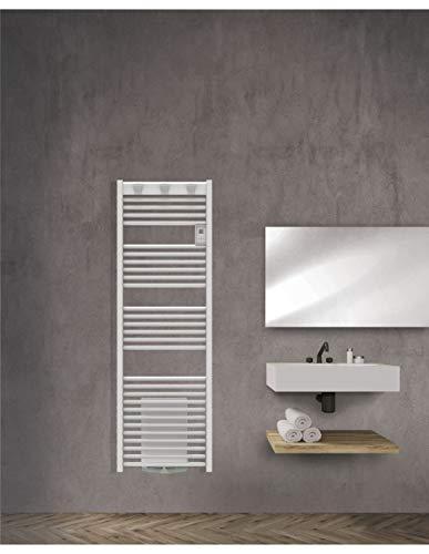 Sèche-serviettes mixte Doris Digital - Avec soufflerie - 500 + 1000W - Blanc