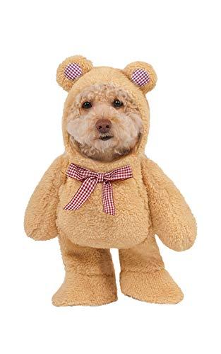 Bären Für Kostüm Kleine Hunde - Rubie 's Walking Teddy Bär Pet Kostüm, Klein