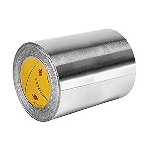 TapeCase 433 – Cinta adhesiva de aluminio y silicona de alta temperatura, 15,2 x 152,4 m, 15,2 x 152,4 m, 15,2 cm de…