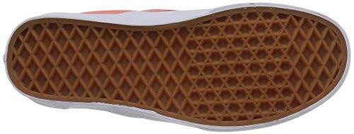 Vans Authentic Scarpe da Skateboard, Unisex Adulto Checkerboard) Arancione