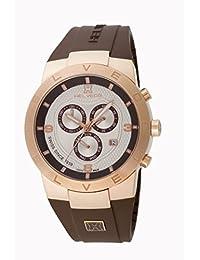 Helveco H01452IIM - Reloj , correa de goma color marrón