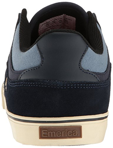 Emerica the Hsu Low Vulc, Scarpe da Skateboard Uomo Navy/Blue