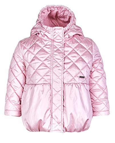 GULLIVER Baby Jacke Winterjacke Kinder Baby Mädchen Rosa Lang Tailliert mit Knöpfen 74 80 cm 86 92 cm