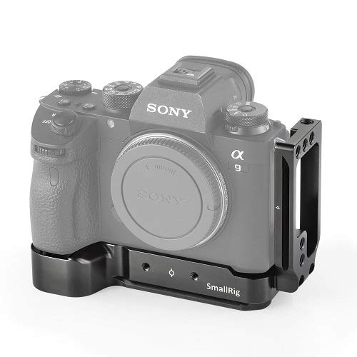 SMALLRIG A7III L Bracket L Winkel/Plate für Sony A7RIII / A7III / A7M3 / A9 mit Eingebaut Schnellwechselplatte - 2122