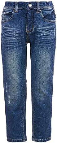 GULLIVER - Pantalones vaqueros para niña, color azul, lavados a piedra, 2 6 años, 98 – 116 cm