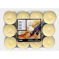 Teelichter Duftkerze Kerze Duftteelicht mit Duft Farbig Teelicht 24 Duftteelich (Vanille Düft) preisvergleich bei billige-tabletten.eu