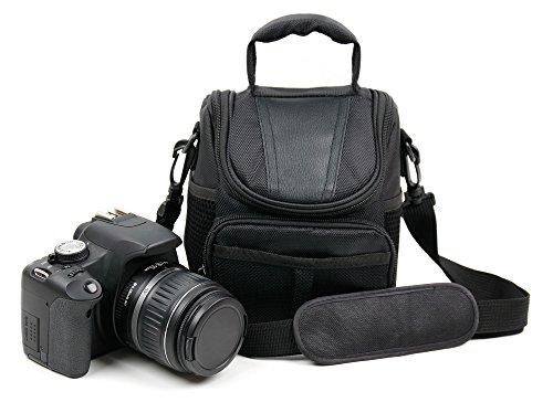 Borsa Per fotocamera Vmotal GDC80X2 | Kodak Pixpro AZ252 / Pixpro AZ365 / Pixpro AZ521 / Pixpro AZ522 / Pixpro AZ525 / Pixpro AZ651 / Pixpro FZ201 / Pixpro FZ41 / Pixpro FZ51 / Pixpro WP1 Sport - Con Maniglia + Tracolla Di Trasporto - Spazio Per Accessori - Alta Qualità - DURAGADGET