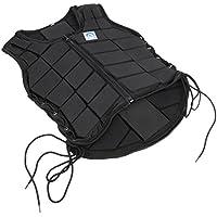 Chaleco de seguridad profesional de MagiDeal, EVA, con cremallera, protector de espalda, protector para el cuerpo, para mujeres, hombres, niños, todos los tamaños, Kids CL