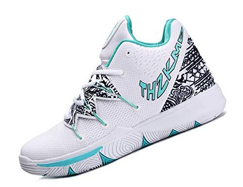 SINOES Basketball Schuhe Herren Outdoor Anti-Rutsch Sneaker High-Top Sportschuhe Laufeschuhe Atmungsaktiv Ausbildung Turnschuhe Verschleißfeste Dämpfung Basketballstiefel