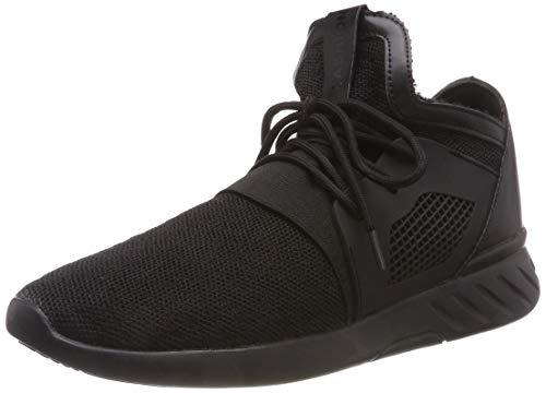 XIANV Sommer Herren Sneaker Mode Casual Schuhe Soft Breathable Mesh Frühjahr Lace-up Männer Schuhe Bequeme Schuhe Männer (43, schwarz)