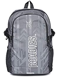 Roadies By The Vertical Restless Polyester 27 Ltrs Dark Grey Laptop Backpack (8903496094176)