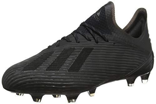 adidas Herren X 19.1 Fg Fußballschuhe, Schwarz Core Utility Black/Silver Met, 45 1/3 EU