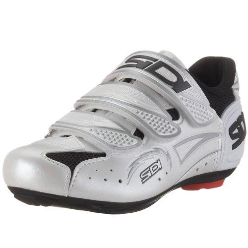 Sidi Zephyr 22030000, Sportschuhe - Radsport, black pearl white (schwarz/perlweiss), EU 42