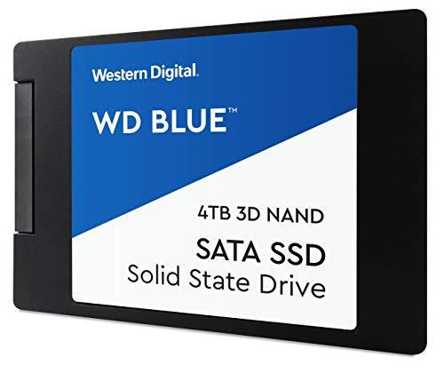 Western Digital WDS400T2B0A WD Blue 4TB 3D NAND Internal SSD 2.5