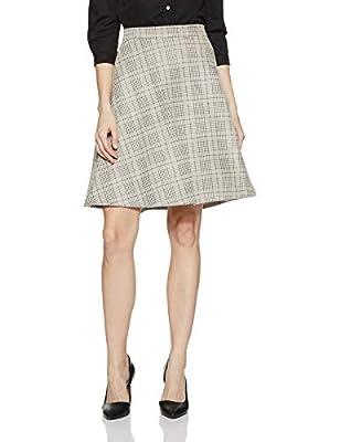 Annabelle By Pantaloons Women's Frills Knee-Long Skirt