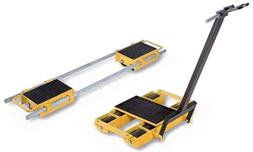 Yale AMZ1023395skate con manico/barra di traino, LX12sterzo, rotelle in nylon