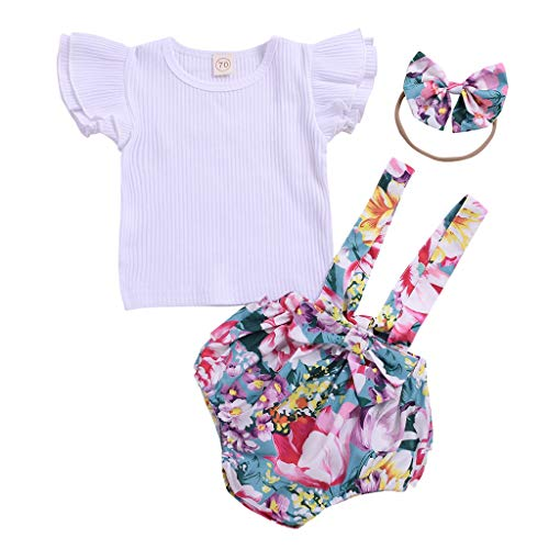 Haarband Hose Outfits Sets 3-Teiliges Prinzessin Rock ()
