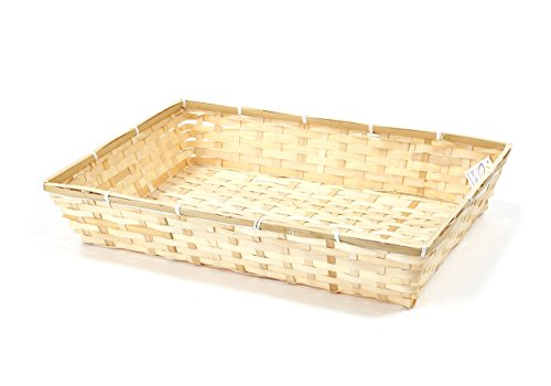 Hamper Basket – Large Bamboo Tray