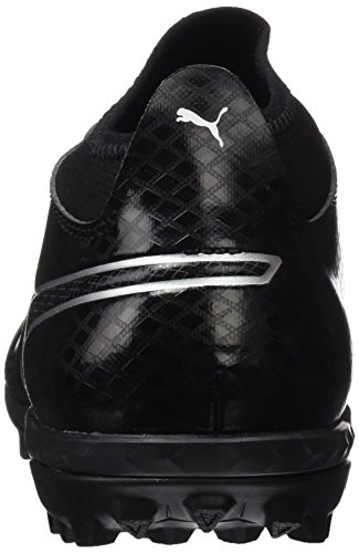 Puma One 17.3 TT, Chaussures de Football Homme Noir (Black-black-silver)