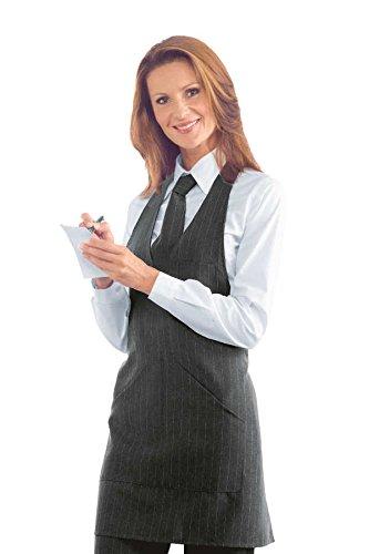 Robinson - Grembiule da chef grigio grigio taglia unica