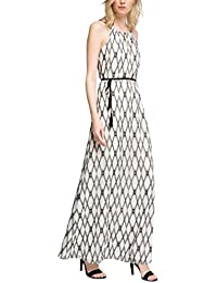 ESPRIT Collection Damen Kleid 056eo1e011-aus Baumwolle