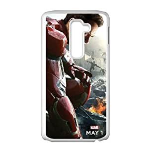 Avengers Age Of Ultron LG G2 Cell Phone Case White Exquisite gift (SA_564864)