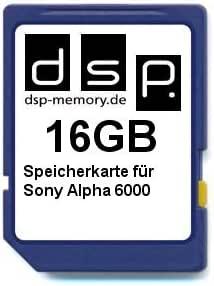 Dsp Memory 16gb Speicherkarte Für Sony Alpha 6000 Computer Zubehör