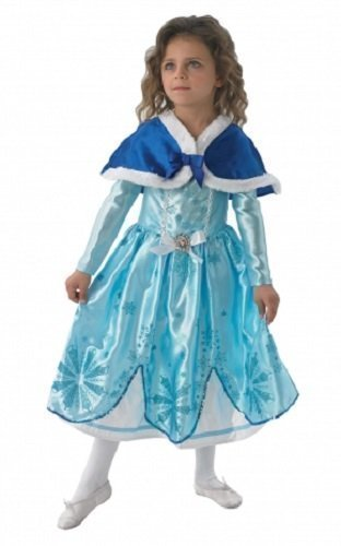 Mädchen Disney Prinzessin Sofia die erste Buch Tag Woche Halloween Weihnachten Kostüm Outfit - Blau, 116