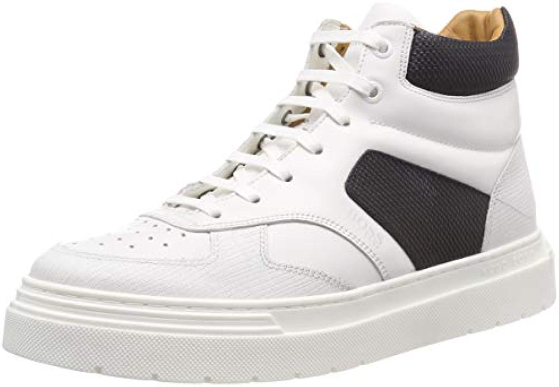 BOSS Kingdom_hito_lthb, scarpe da ginnastica a Collo Alto Uomo | Esecuzione squisita  | Scolaro/Signora Scarpa