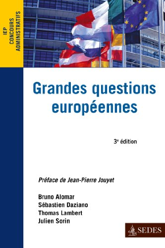Grandes questions européennes : Concours administratifs - IEP (Série Cours)
