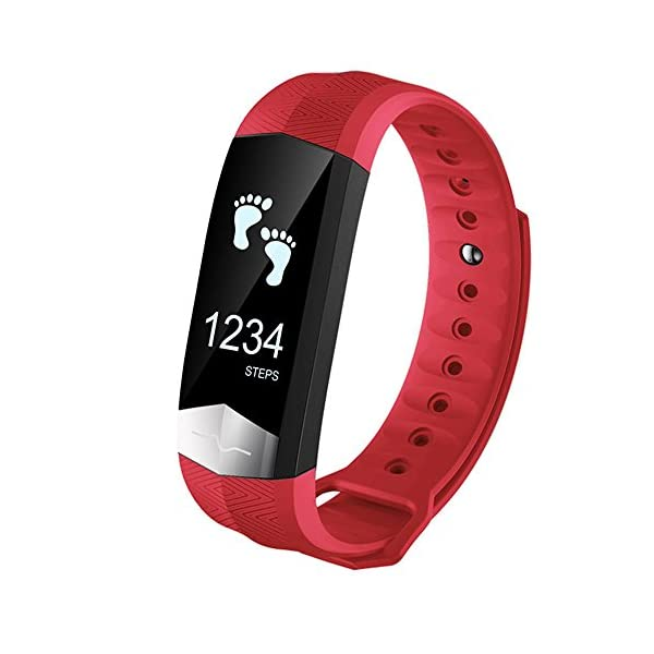 Pawaca Waterproof Fitness Tracker Blood Pressure Monitor ECG Heart Rate Monitor Touch Screen Bluetooth Smart Watches Band Activity Tracker Wristband With Pedometer Sleep Monitor For Android IOS