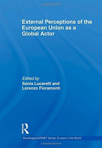 External Perceptions of the European Union as a Global Actor (Routledge/GARNET series)
