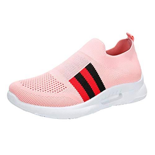 URIBAKY Mesh Leichte Schuhe Damen Running,Trainingsschuhe-Fitness Air Turnschuhe,Sneakers Walking-Joggingschuhe-Laufen Frühling Sommer Sportschuhe - Neutraler Trainingsschuh