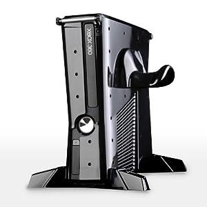 Xbox 360 – Base Model Vaults Schwarz (Konsolenhülle für Xbox 360 Slim)