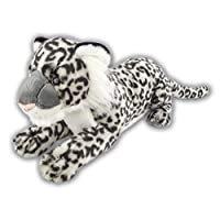 LARGE 60CM PREMIUM ARK TOYS SNOW LEOPARD SOFT CUDDLY TOY [Toy]
