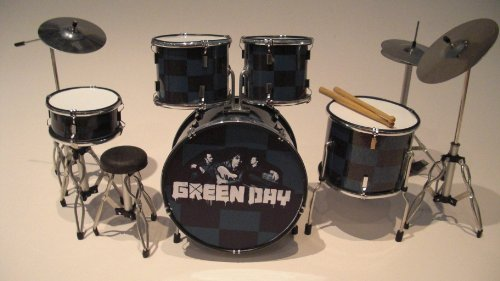 rgm323-green-day-kits-de-batterie-miniatures-rock-guitar-miniatures-billie-joe-armstrong-mike-dirnt-