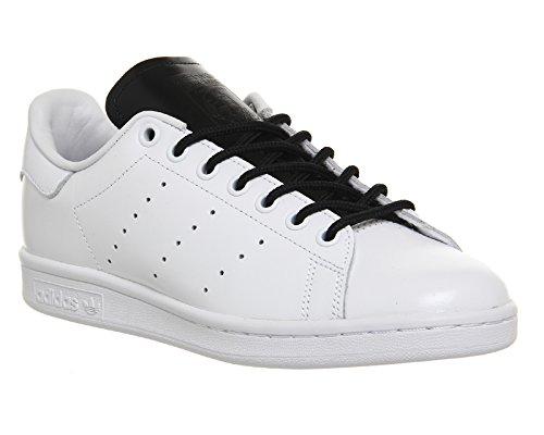 S80019FTWHTSTANSMITH Adidas Sneakers Herren Leder Weiß weiß / schwarz