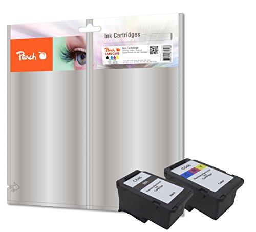 Preisvergleich Produktbild Peach Spar Pack Druckköpfe kompatibel zu Canon PG-545/CL-546