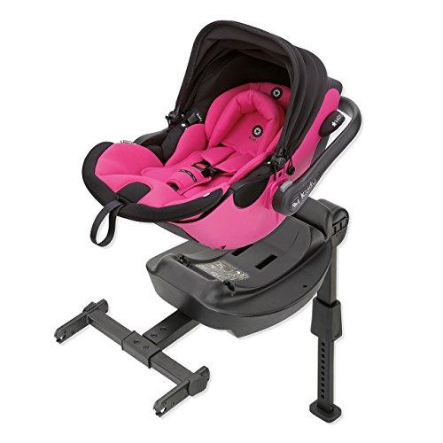 Preisvergleich Produktbild Kiddy 41940EL052 Evoluna i-Size Babyschale inkl. Isofix Base, patentierte KLF-Liegefunktion, i-Size (Geburt-83 cm, Geburt-ca. 15 Monate), Pink