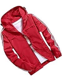 fa0c6aebe669 Clearance Sale  M-4XL  ODRD Herren Pullover Jacke Parka Mode Patchwork  Hoodie Outdoor Winddicht Mantel Hoodie Männer Sweatshirt…