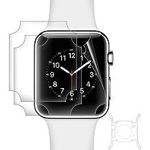 aceyoon Pellicola Apple Watch 42mm Series 1 [3 pezzi] Clear Proteggi Schermo Apple Watch 42 mm High Transparent TPU HD Custodia iWatch 1 Screen Protector Pellicola
