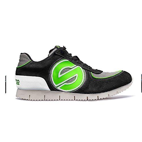 Chaussures Sparco Genesis L Noir/Vert