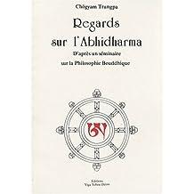 Regards sur l'Abhidharma