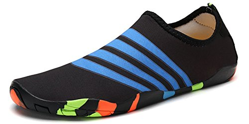 Eagsouni Barefoot Water Shoes Mens Womens Quick Dry Aqua Socks for Unisex Adults and Kids Beach Swim Surf Yoga Sports Driving Garden Running Walking Park Lake Boating