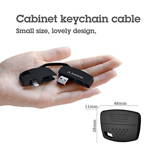 Llavero Cargador y Sincronizador Lightning a USB cable – Avantree