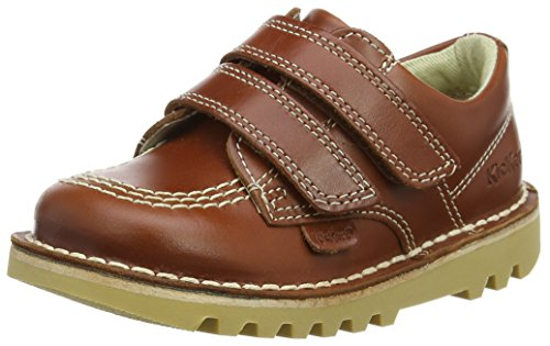 Kickers Baby Jungen Kick Lo Vel Sneaker, Braun (Dark Tan), 24 EU