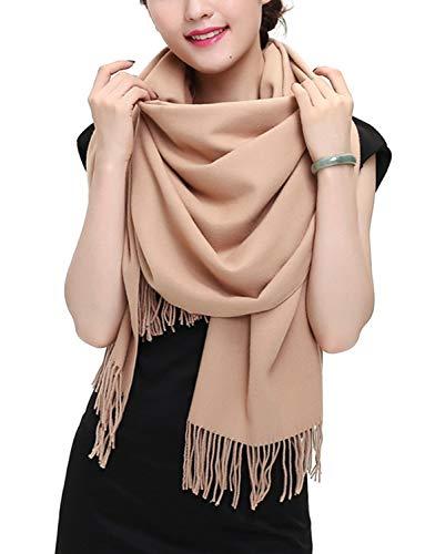 TFENG Damen Schal, 19 Farben Frauen Weich Elegant Stola Schal Tuch, übergroßer Deckenschal Herbstschal Winterschal