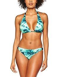 Chiemsee Mujer Anemone Triangle Bikini, mujer, ANEMONE, Batituka Green, XS